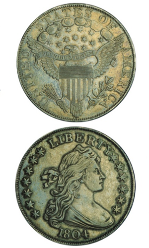 rok 1804 Silver Dollar