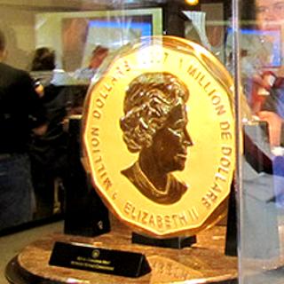złota moneta z 2007roku